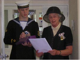 In July 2004 Lady Mary Holborow Lord Lieutenant ofCornwall  presented the Centre with The Queens Golden Jubilee Award For Voluntary Service by groups in the Community.