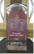 The Queens Golden Jubilee Award For Voluntary Service by groups in the Community
